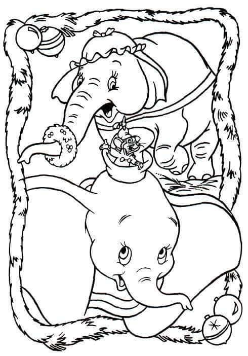 28 Free Printable Disney Christmas Coloring Pages - World Of Makeup ...
