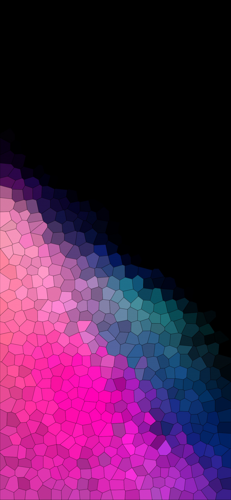 Notchless gradient wallpapers for iPhone X Phone