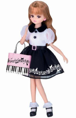Rika Licca Chan Doll LD-09 Kitty Cat Coordinates Girls Toy from Japan