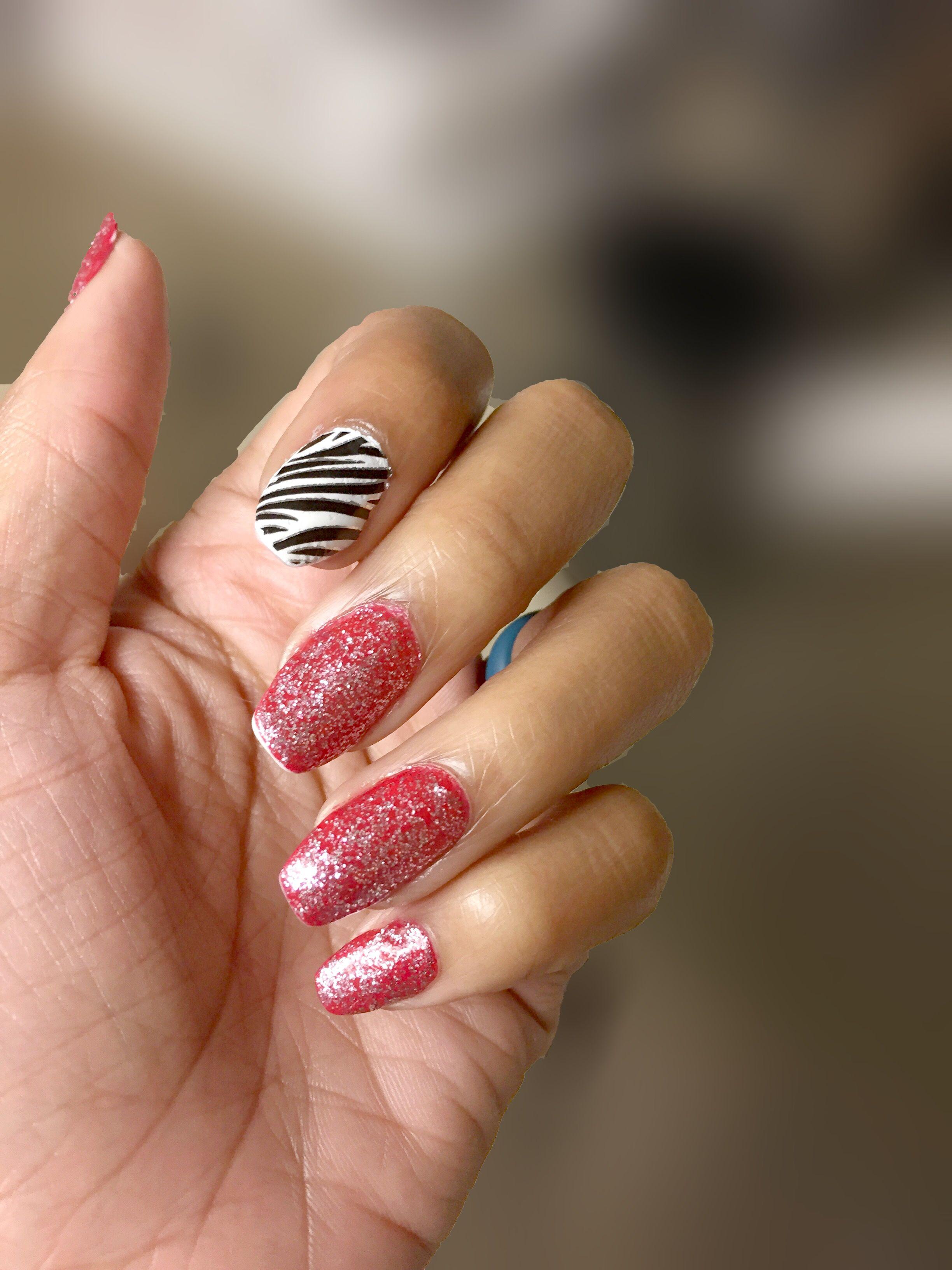 Fake acrylic nails made with cornstarch | My Nail Designs ...