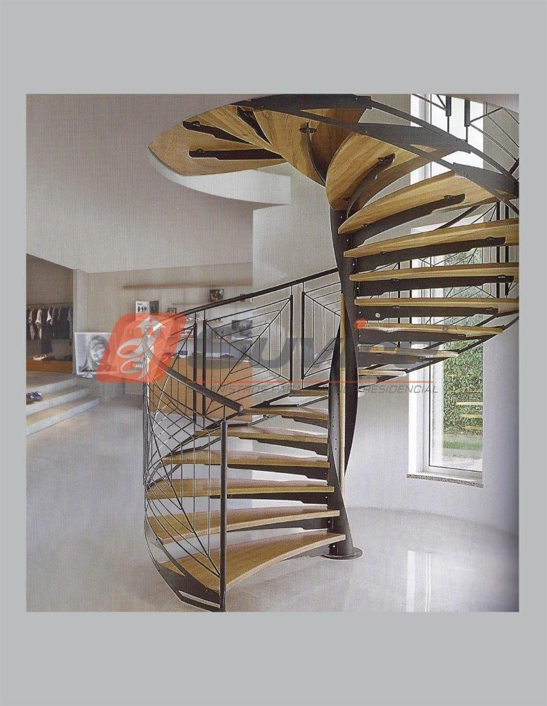 Productos especiales suvire escaleras barandales y for Diseno de escaleras interiores