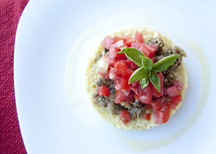 Risotto alla parmigiana estiva   L'idea Pellegrina Foodblog