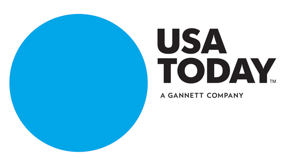 New Usa Today Logo Design By Wolff Olins Usa Today Brand Management Dream Business