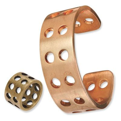Kelly Wearstler's brass ring and cuff