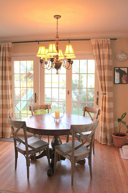 Houseography House Tour Room By Room Link Up Party Kitchens Sliding Glass Door Curtains Home Glass Door Curtains