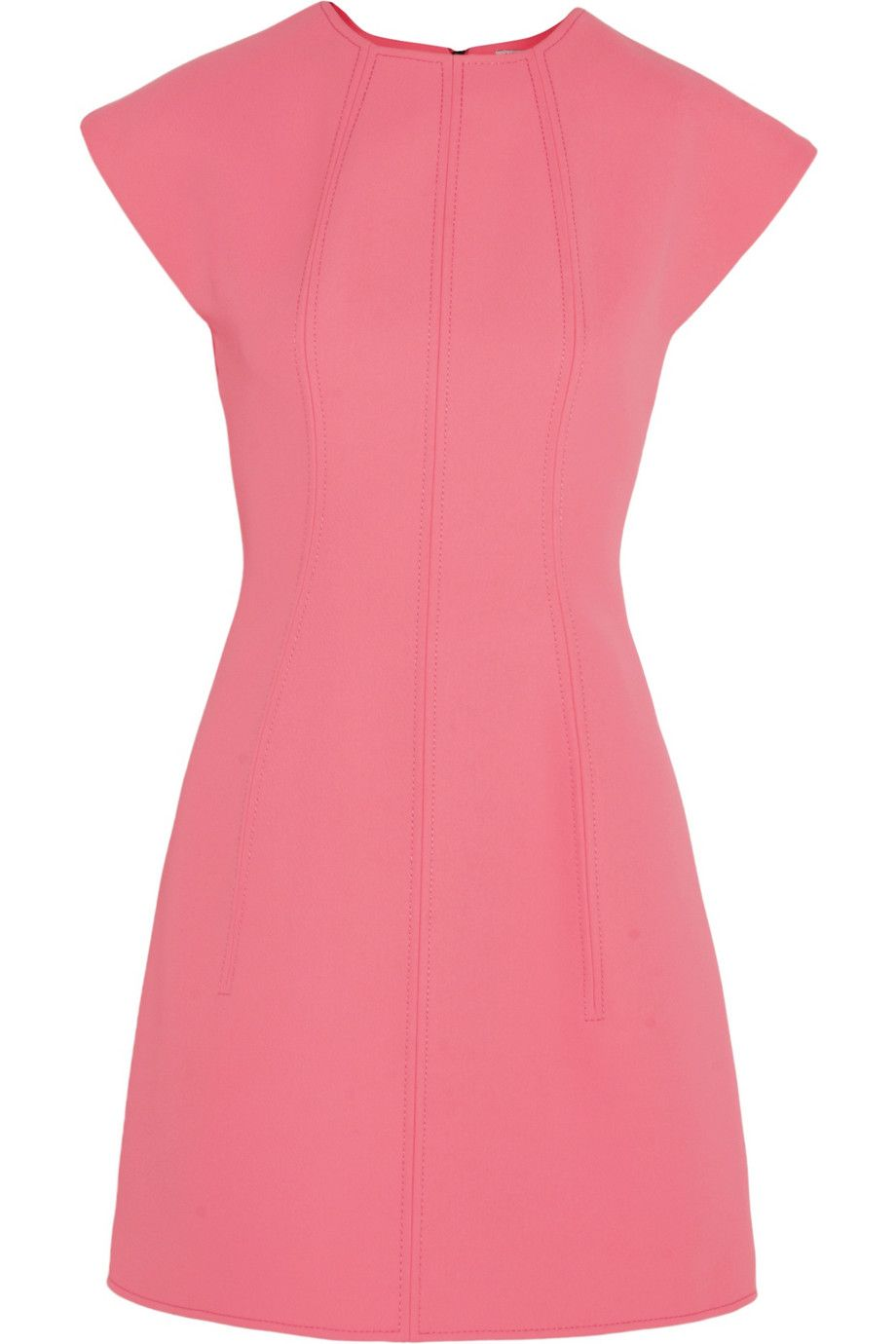 KENZO | Neon neoprene mini dress | NET-A-PORTER.COM