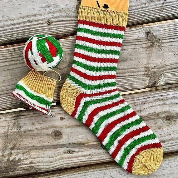 """9"""" Circular Sock Knitting Workshop - PDF Pattern Download ..."""