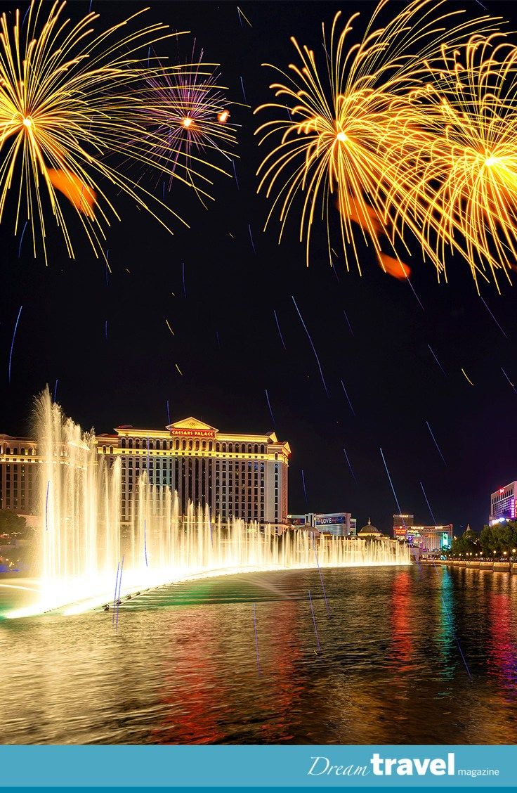 Travel Guide to Celebrating New Year's Eve Las Vegas Las