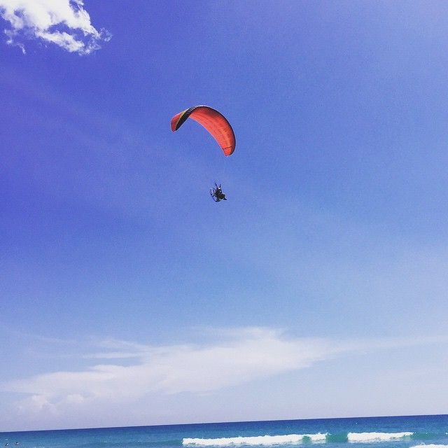 Need a thrill? Try Saturday morning powered paragliding. #thephacelife #ph #phbalance #loveflying #free #chittychittybangbang #thrill #fun #niceview #exciting #adventure #happiness #nofear #florida #poweredparagliding #whynot