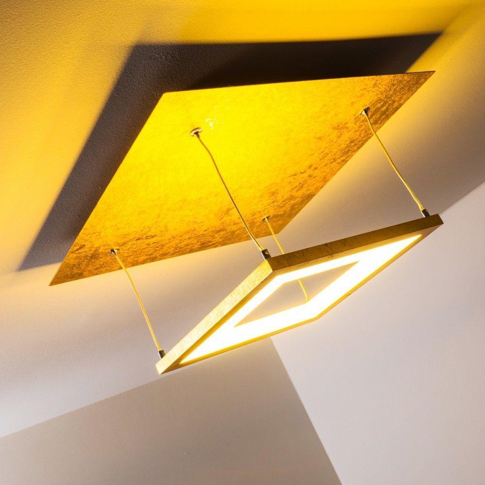 Details zu LED Design Deckenleuchte Wohn Flur Küchen Zimmer ...