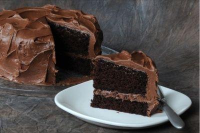 Decadent Gluten Free Devils Food Cake Mom S Place Gluten Free