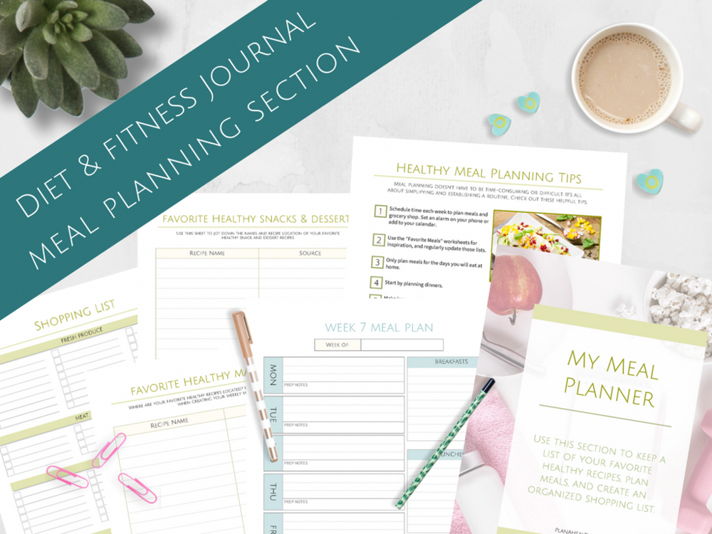 #Daily #diet #Epic #Fitness #Goal #Meal #Planner #Planning #Setting #Tracking #Week How to be health...
