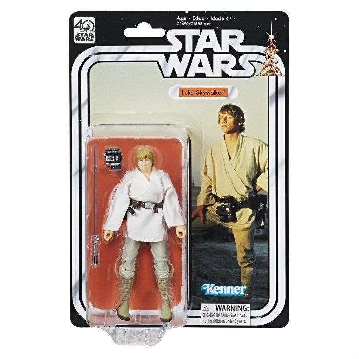 "Ben Obi-Wan Kenobi 6/"" The Black Series STAR WARS Hasbro MOC 40th Anniversary"
