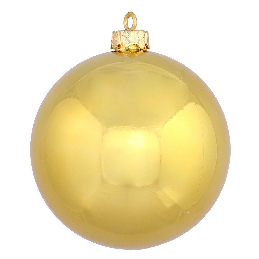 """Vickerman 8"""" Shiny Ball Ornament"""