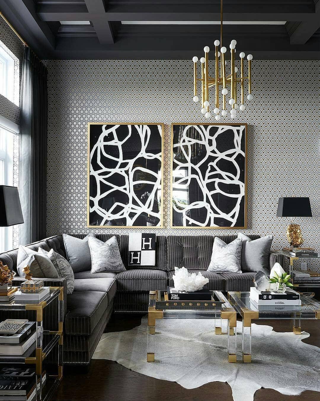 Prime Residence Decor On Instagram Grey Black Gold And White