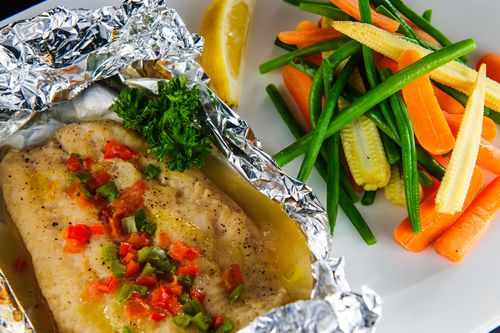 Fast day soy and ginger fish with green veg recipe fish fresh fast day soy and ginger fish with green veg recipe fish fresh coriander and veg recipes forumfinder Images