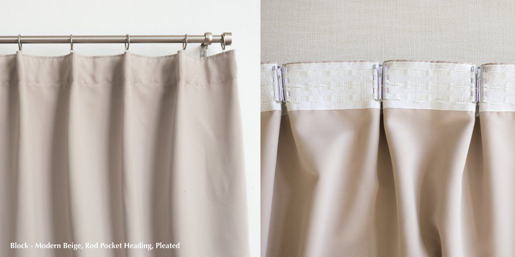 Which Curtain Heading Style Should I Choose Curtain Headings