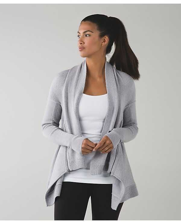 b317274b4f8a Lululemon Wrap it up sweater. Received this merino wool sweater as a ...
