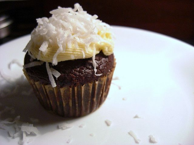 Coconut Cupcake #cupcake