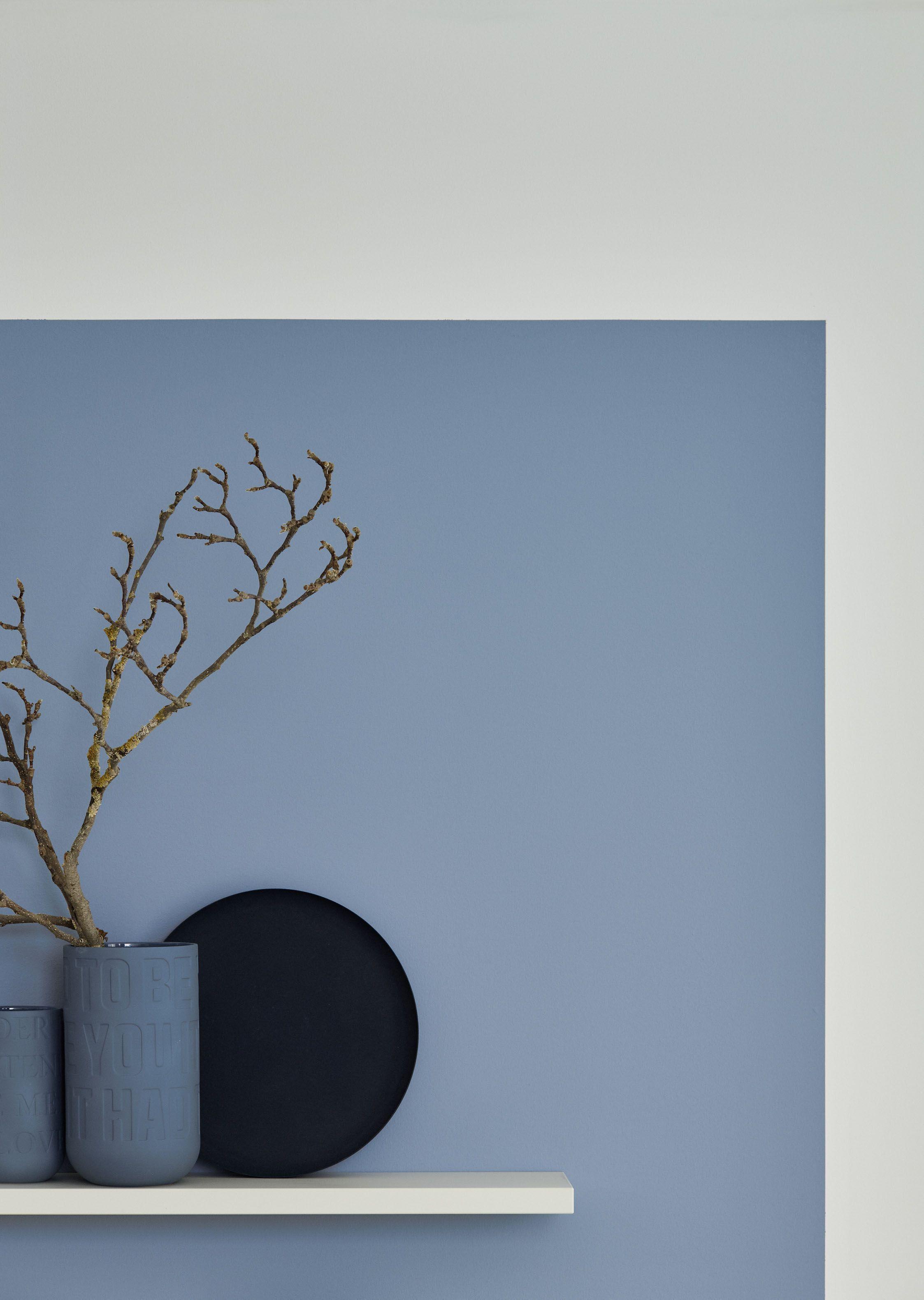 Schoner Wohnen Kollektion Designfarbe Inspirierendes Horizontblau Schoner Wohnen Wandfarbe Schoner Wohnen Blaues Schlafzimmer