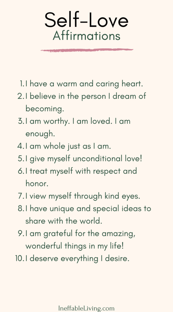 Self-Love Journey: How to Start Loving Yourself? - Ineffable Living