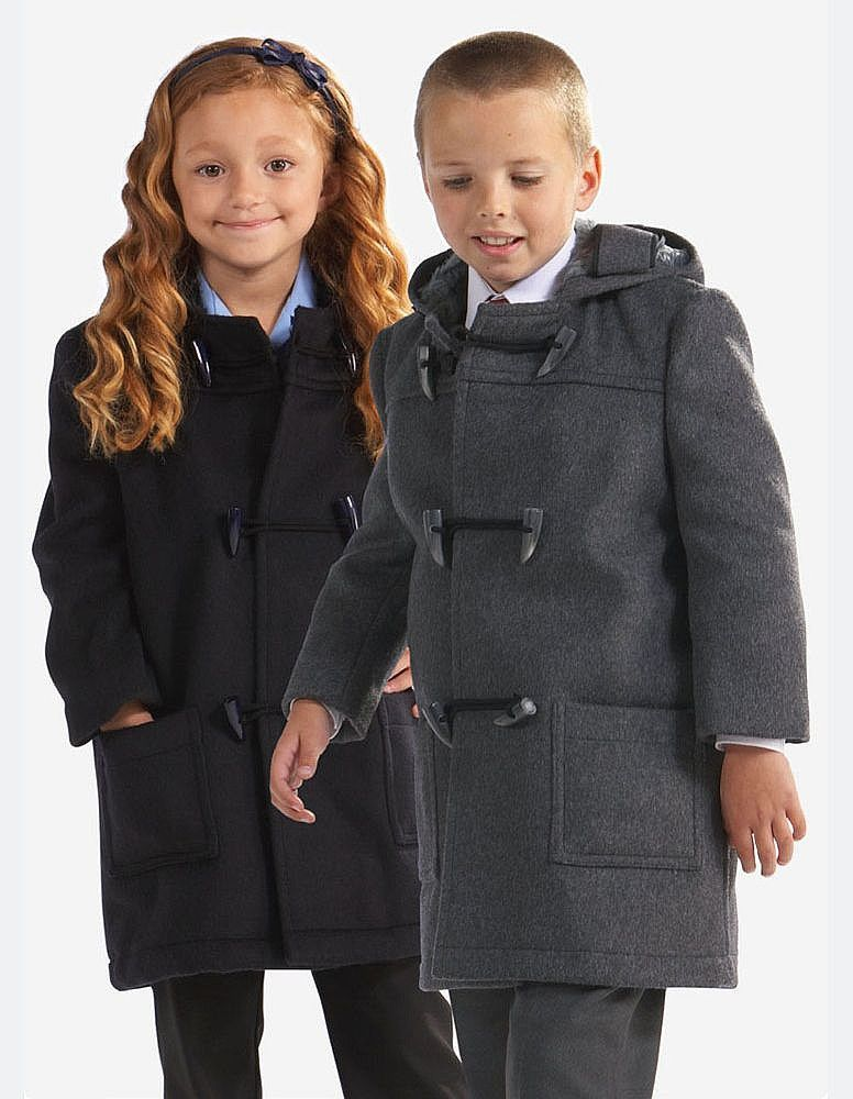 Beau Brummel duffle coats for school home children | Winter is ...