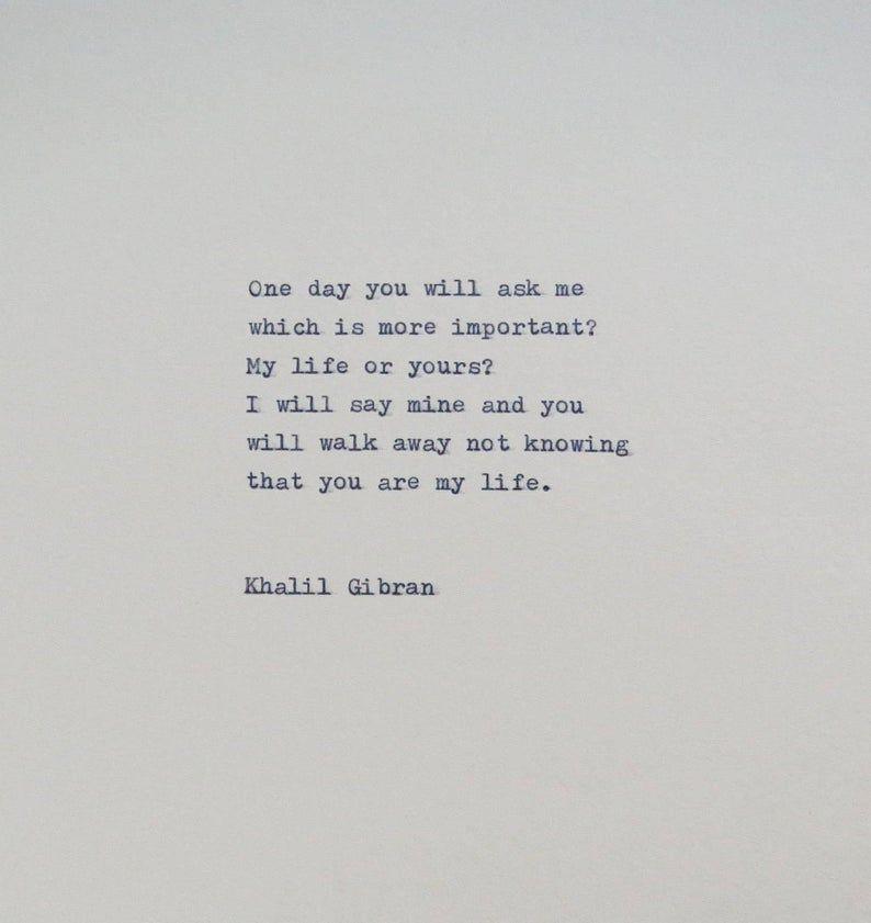 Khalil Gibran Quote | Etsy