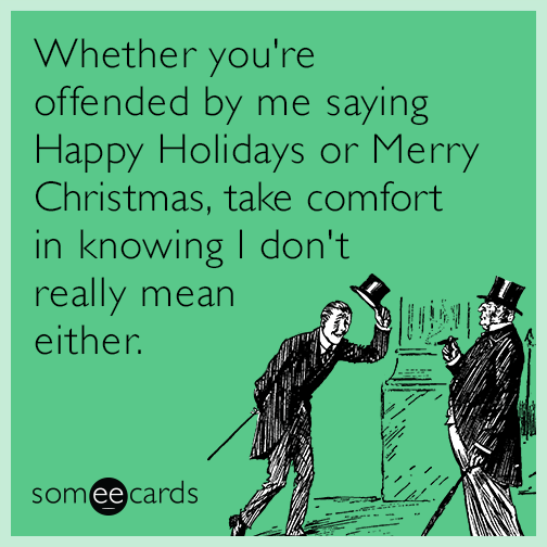 justjoking Merry Christmas and Happy Holidays everyone
