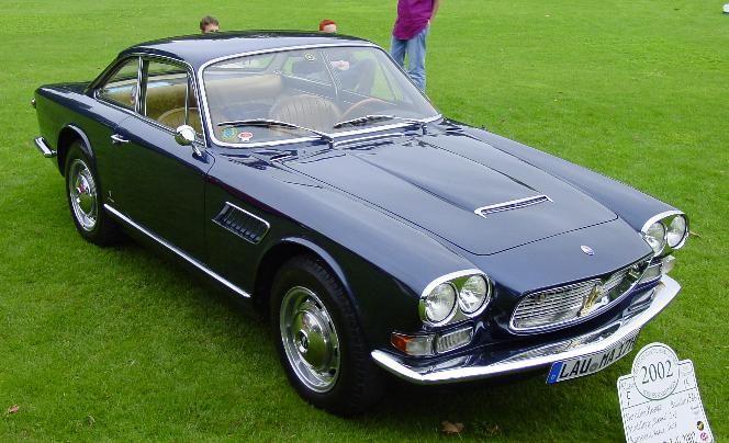 1966 Maserati Sebring Vignale 2 2 Coupe Maserati