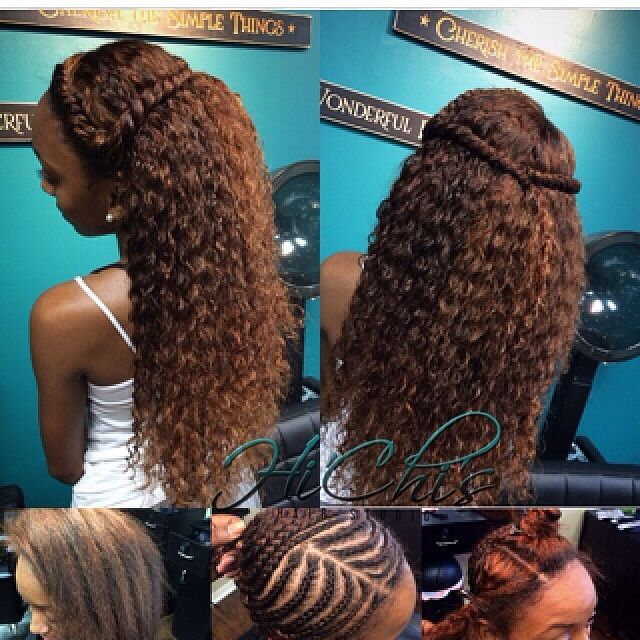 Ashawnay natural hair pinterest sew ins natural sew in and sew full sew in with lace closure brazilian curly hair very little leave out around the hairline to give a more natural look as well as for styles that she pmusecretfo Image collections