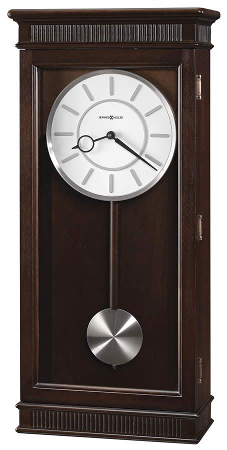 Howard Miller Triple Chiming Contemporary Wall Clock With Pendulum Chiming Wall Clocks Contemporary Wall Clock Pendulum Wall Clock