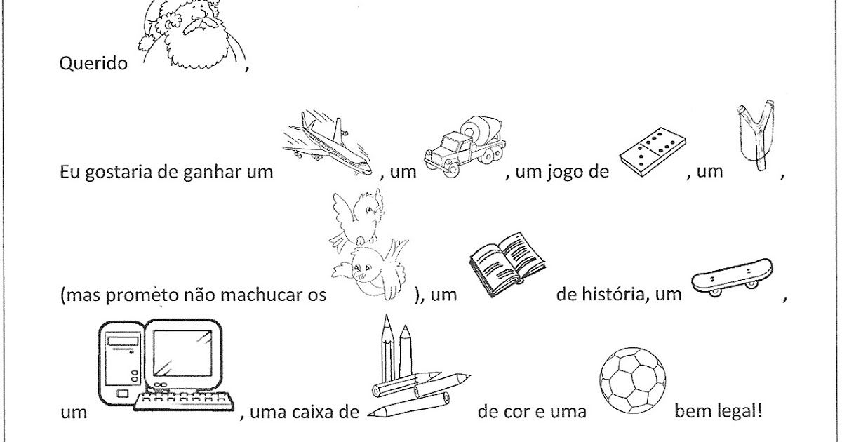 Carta Enigmática - Natal PRODUÇÃO TEXTUAL Ensinar.