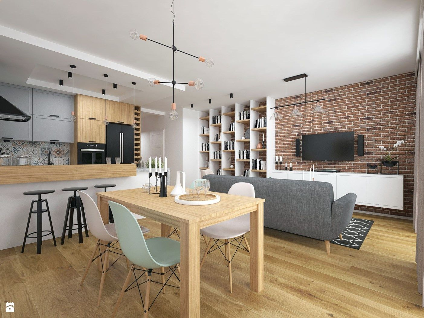 Lovely Studio Apartment Kitchen Table