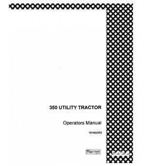 CASE IH 350 GAS INTERNATIONAL UTILITY WHEATLAND TRACTOR
