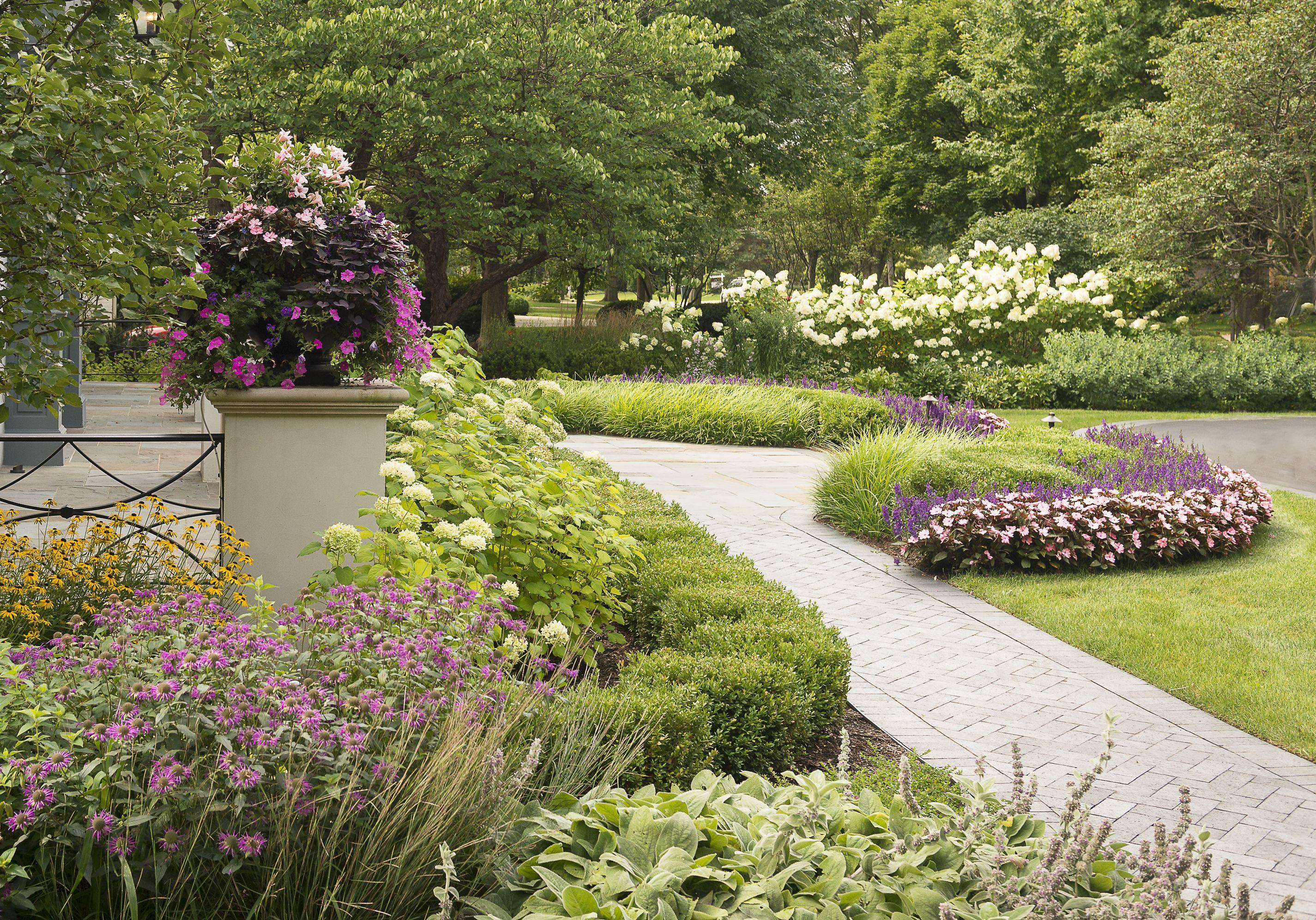 Perennial Seasonal Planting Design By Premier Service Landscaping Tips Backyard Landscaping Yard Landscaping