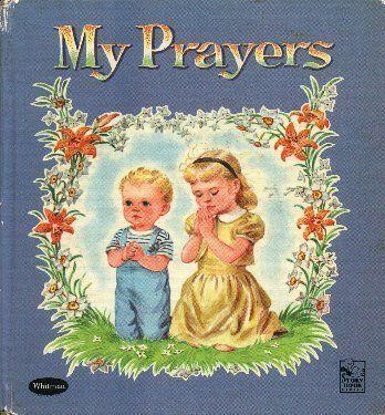 My Prayers Hardcover  Illustrated HC 1959 by Rachel Taft Dixon