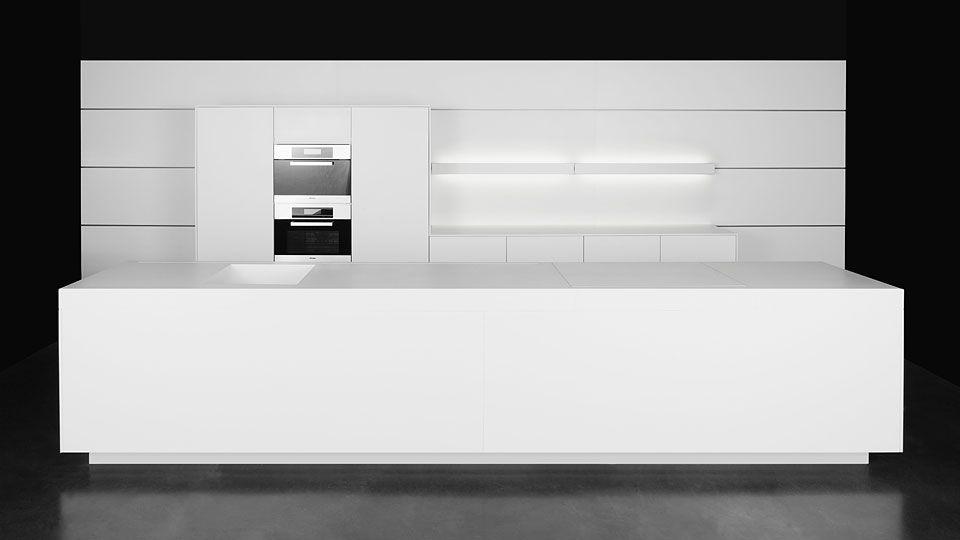 Interieur lakwerk keuken wand satin banken beits wonen