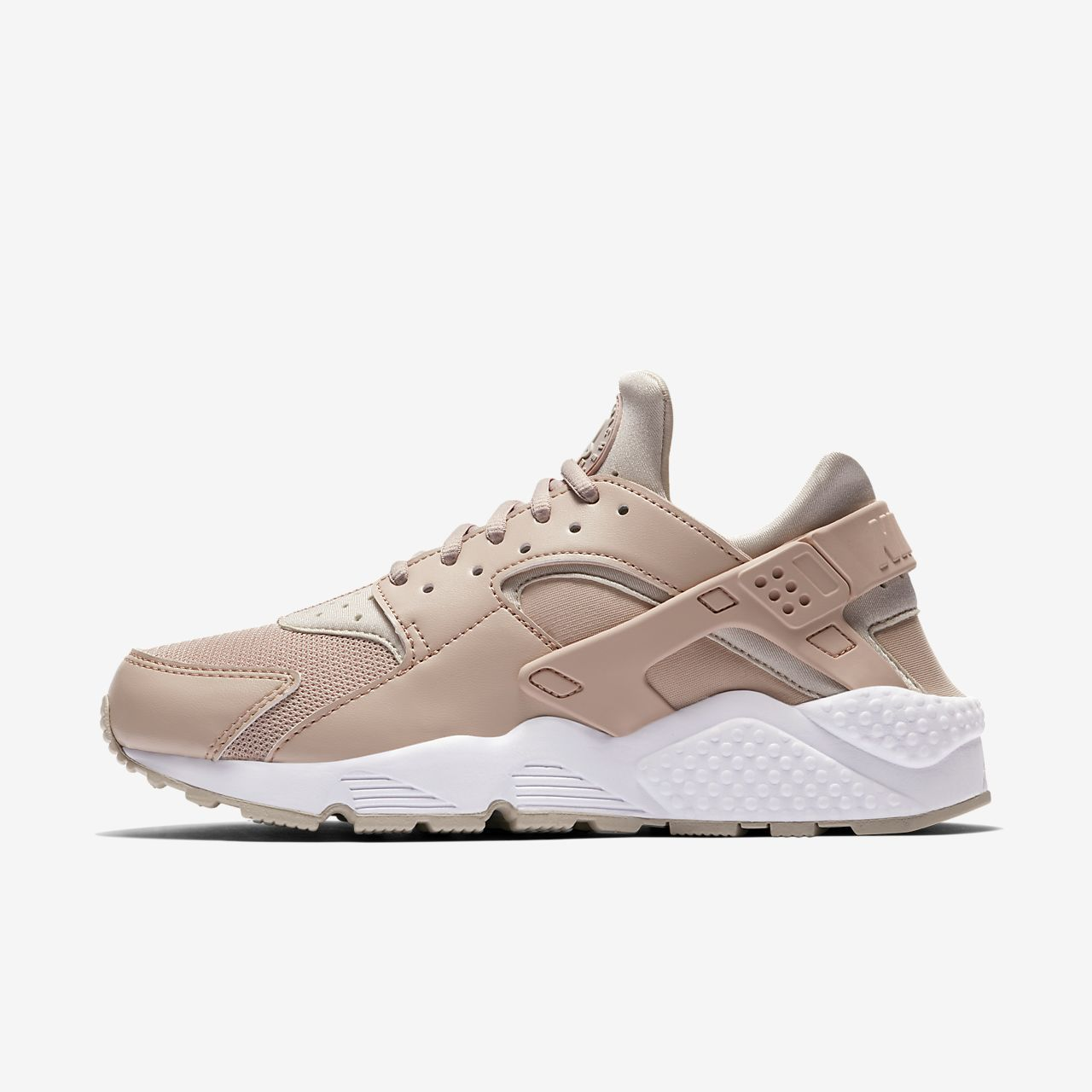 best service 6d014 1a983 Nike Air Huarache Women s Shoe Particle Beige White Desert Sand