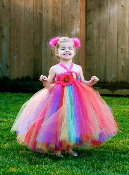 lil' rainbow dress