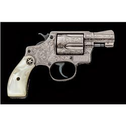 Custom Eng'd S&W Pre-36 Chief's Special Revolver | Smith