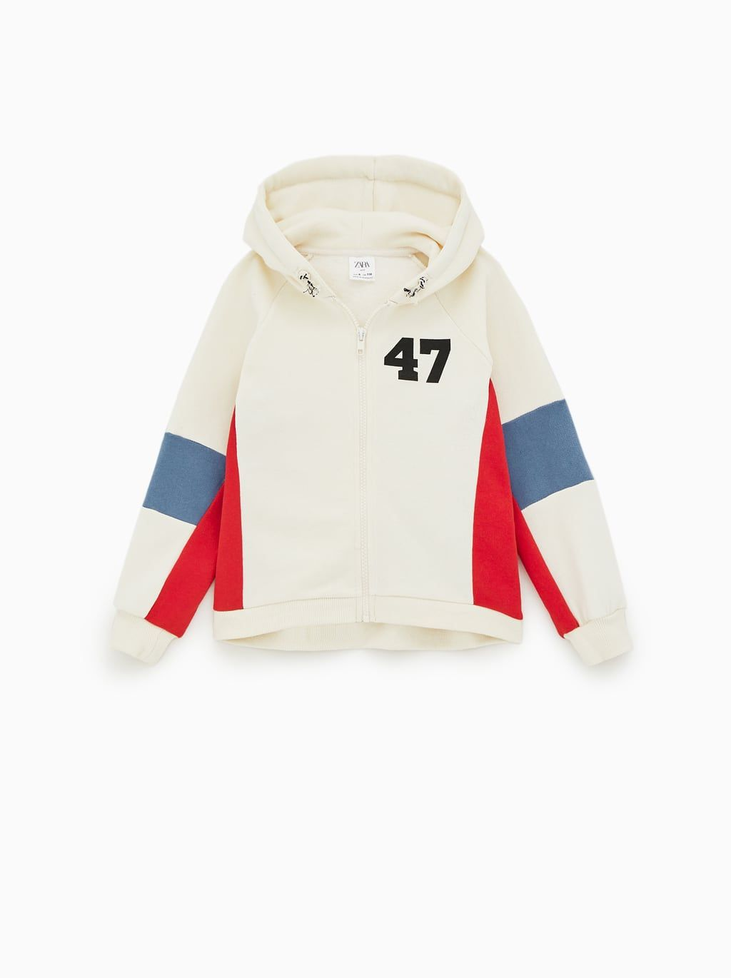 8d2804f44e SLOGAN HOODIE WITH CONTRAST STRIPE AND SLOGAN | S/S BITS in 2019 ...