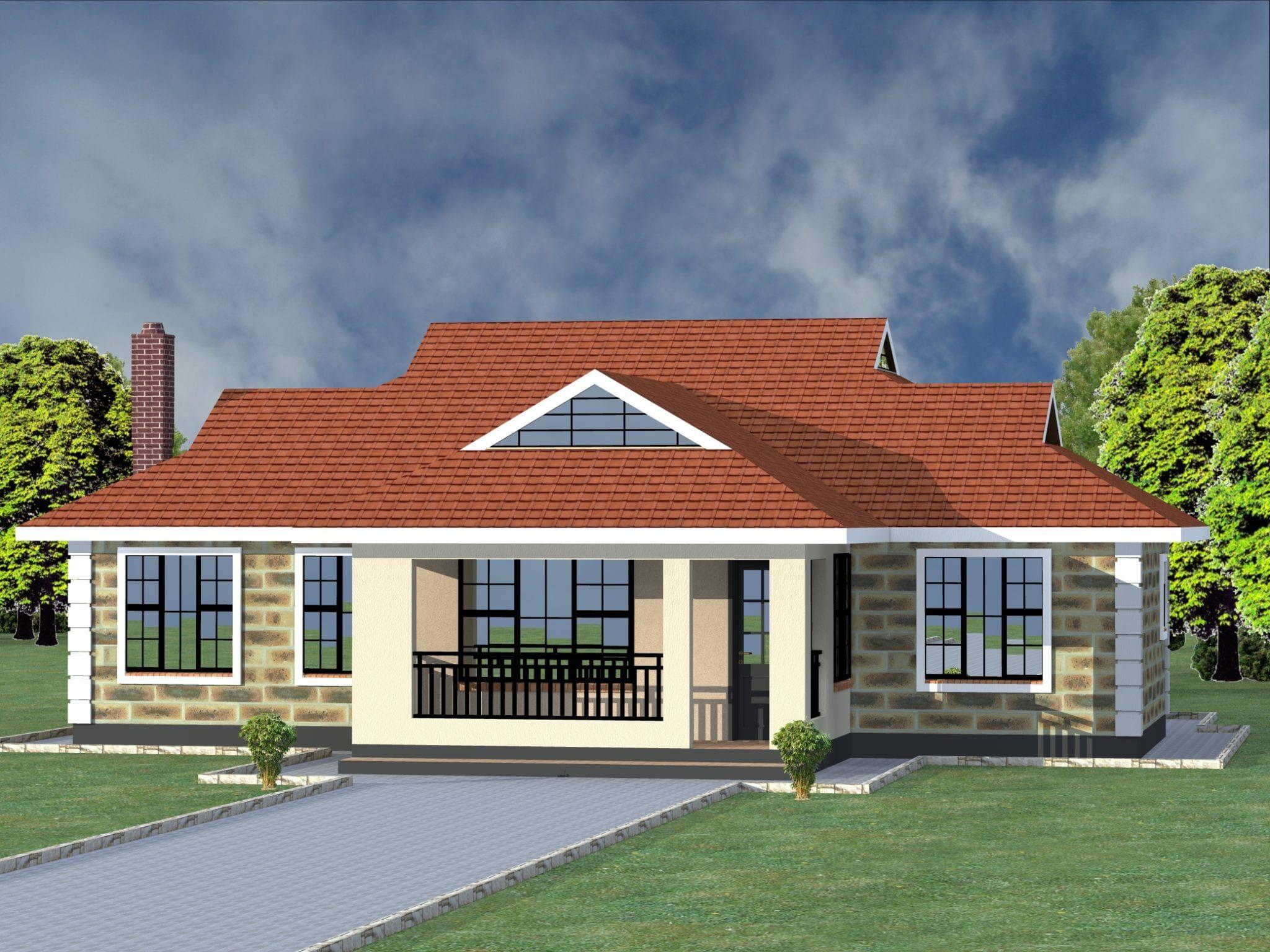 4 Bedroom Design 1138 B Bungalow House Floor Plans Bungalow Design Bungalow House Design