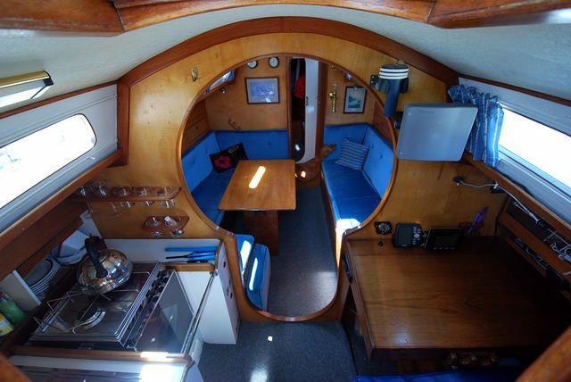 35 Ft Wood Interior Sailboat - Google Search