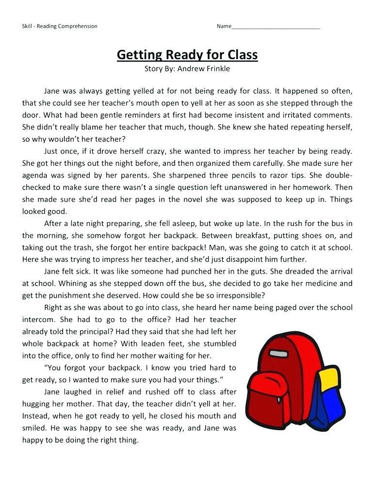 4th Grade Reading Comprehension Worksheets Best Coloring Pages For Kids Reading Comprehension Worksheets Comprehension Worksheets Reading Comprehension Free printable reading worksheets 4th