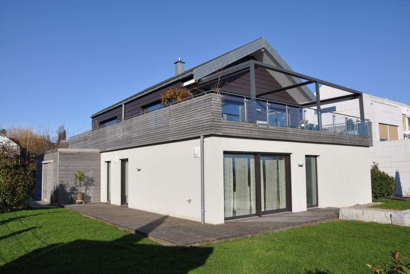Modernes Einfamilienhaus neuwertig, mit Bergsicht