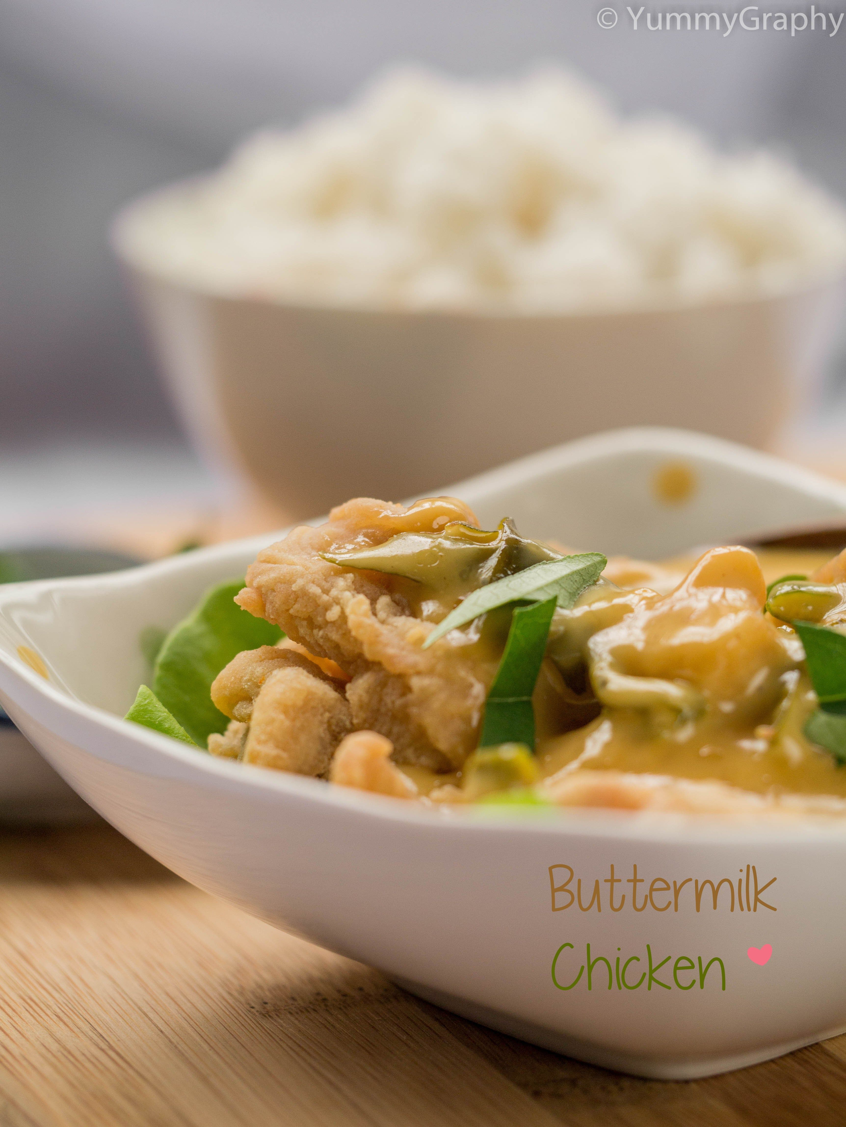 Bruneian Buttermilk Chicken Yummygraphy Buttermilk Chicken Global Cuisine International Recipes