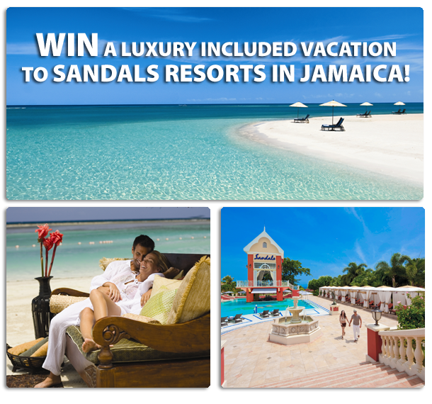 Win a trip to Jamaica Canada only ends April 12