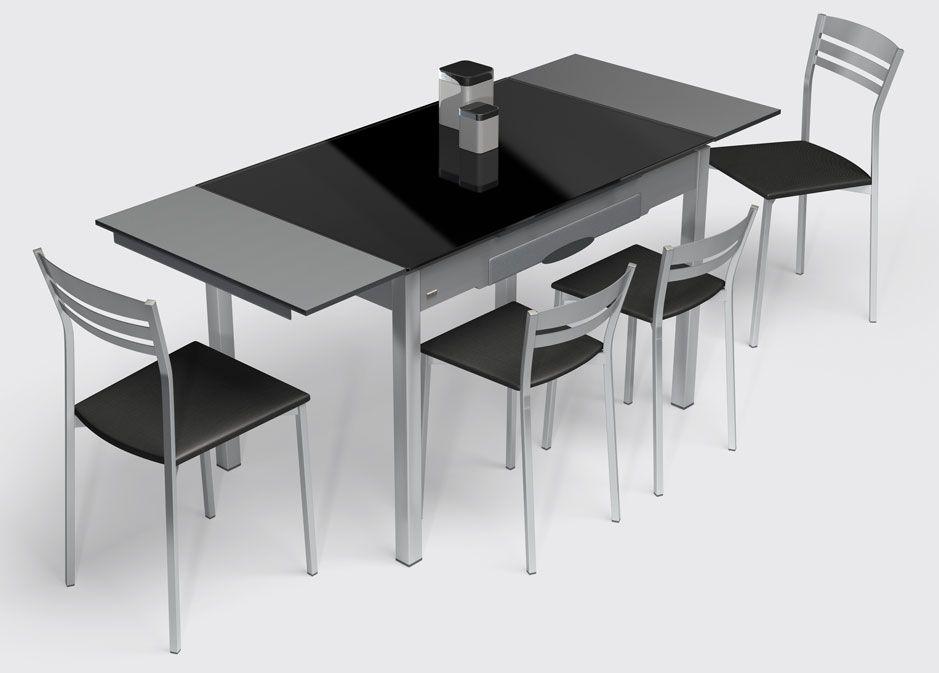 Dise o de cocinas mesas de cocina y sillas modernas en - Mesa cocina diseno ...