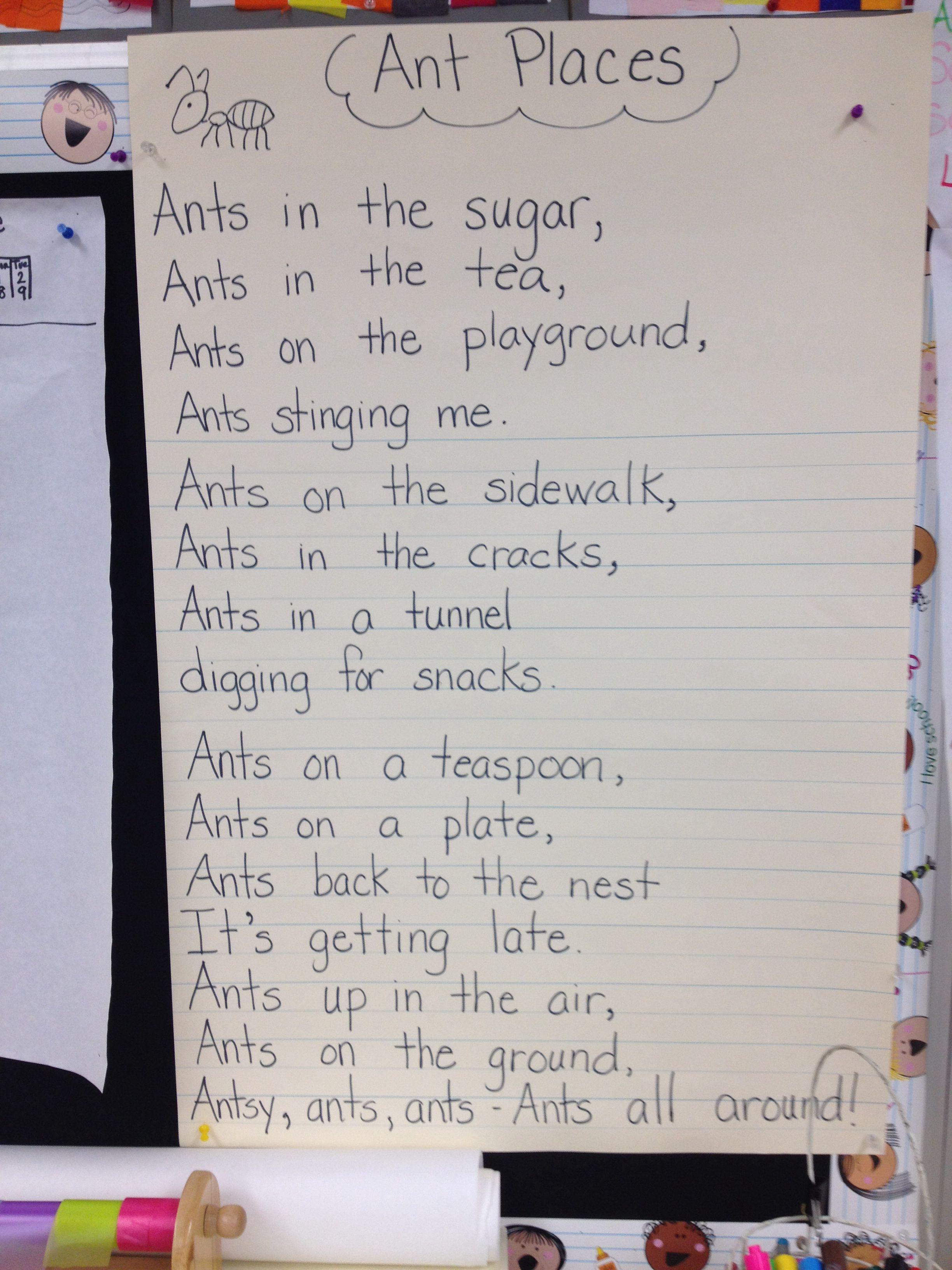 Ant Poem