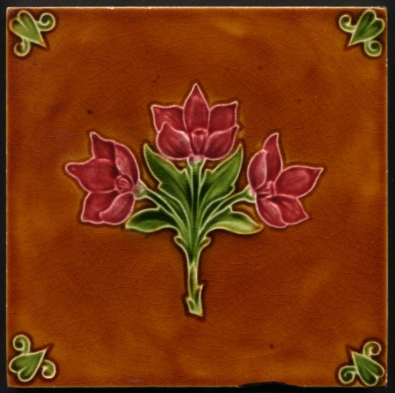 Pilkington Art Nouveau Tile 1908 Art Deco Tiles Art Nouveau Tiles Ceramic Tile Art
